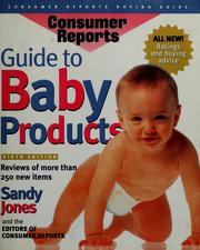 Cover of: Guide to baby products