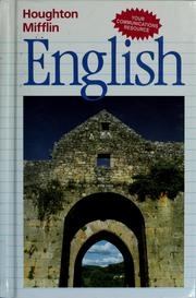 Cover of: Houghton Mifflin English