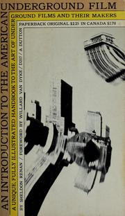 Cover of: An introduction to the American underground film | Sheldon Renan