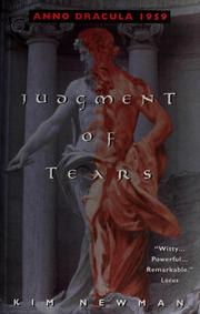 Cover of: Judgment of tears
