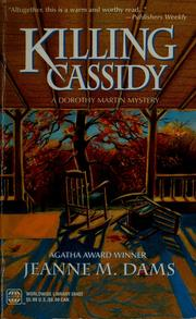 Cover of: Killing Cassidy