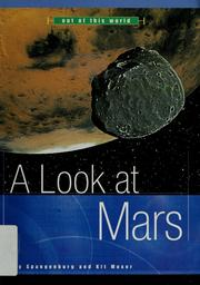 Cover of: A look at Mars