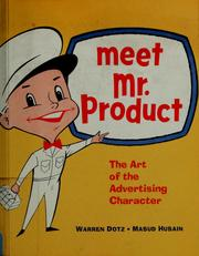 Cover of: Meet Mr. Product