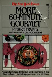 Cover of: The New York Times More 60-minute gourmet