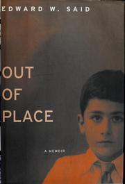 Cover of: Out of place