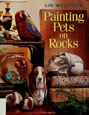 Painting pets on rocks by Lin Wellford
