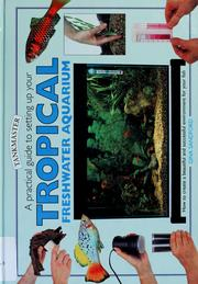 Cover of: A practical guide to setting up your tropical freshwater aquarium