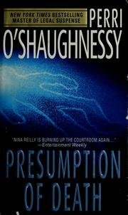 Cover of: Presumption of death