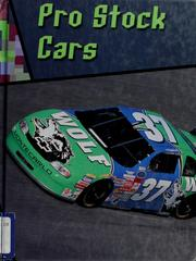 Cover of: Pro stock cars