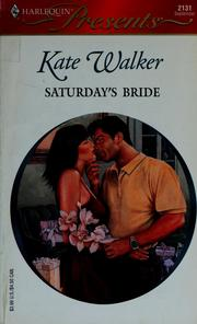 Cover of: Saturday's Bride