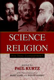 Cover of: Science and religion