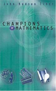 Cover of: Champions of Mathematics (Champions of Discovery)