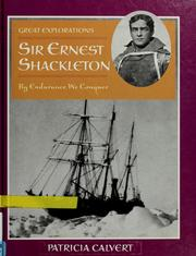 Cover of: Sir Ernest Shackleton