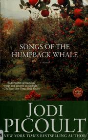 Cover of: Songs of the humpback whale