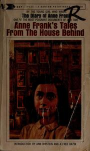 Cover of: Tales from the house behind | Anne Frank