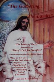 Cover of: The gathering-- of the lambs | Norman U. Weslin
