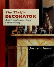 Cover of: The thrifty decorator