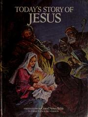 Cover of: Today's story of Jesus