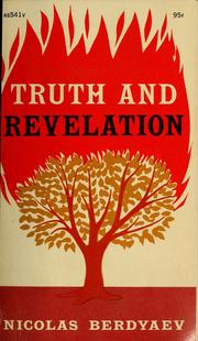 Cover of: Truth and revelation