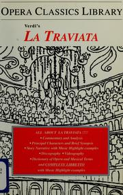 Cover of: Verdi's La traviata