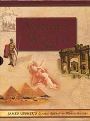 Cover of: The annals of the world