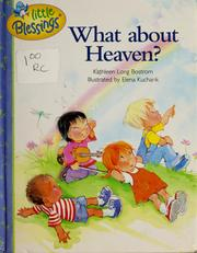 Cover of: What about heaven?