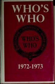 Cover of: Who's who |