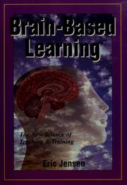 Cover of: Brain-based learning