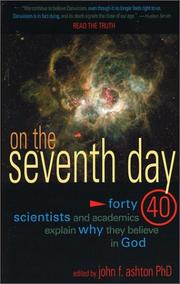 Cover of: On the Seventh Day