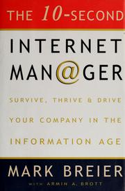 Cover of: The 10-second Internet manager