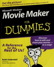 Cover of: Microsoft Windows Movie Maker for dummies