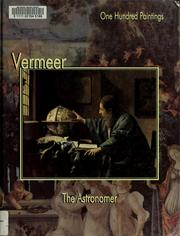 Cover of: Vermeer, the astronomer