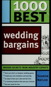 Cover of: 1000 best wedding bargains