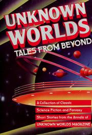 Cover of: Unknown worlds