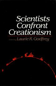 Cover of: Scientists confront creationism