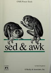 Cover of: Sed & awk | Dale Dougherty