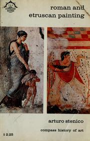 Cover of: Roman and Etruscan painting. | Arturo Stenico