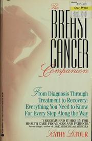 Cover of: The breast cancer companion by Kathy LaTour