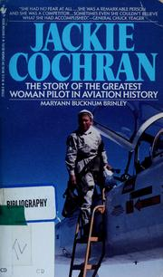 Cover of: Jackie Cochran