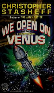 Cover of: We open on Venus