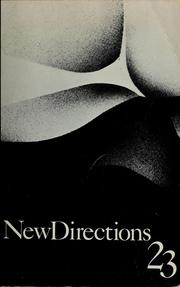 Cover of: New Directions in prose and poetry 23