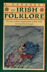 Cover of: A treasury of Irish folklore
