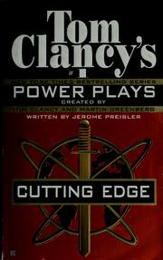 Cover of: Cutting edge | Tom Clancy
