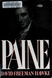 Cover of: Paine | David Freeman Hawke