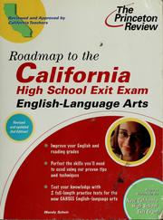 Cover of: Roadmap to the California High School Exit Exam | Wendy Scheir