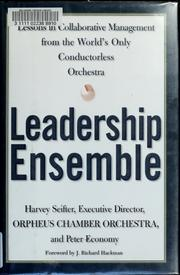 Cover of: Leadership ensemble