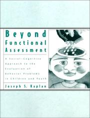 Cover of: Beyond functional assessment