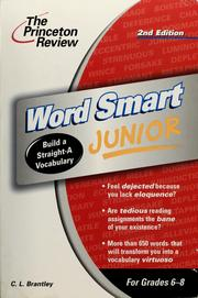 Cover of: Word smart junior | Cynthia Johnson
