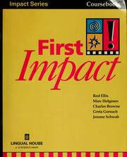 Cover of: First impact | Rod Ellis
