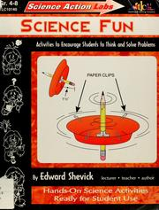 Cover of: Science fun | Edward Shevick